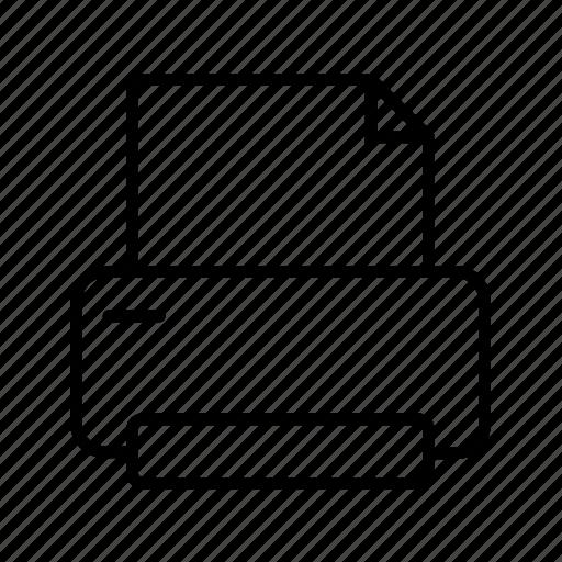 document, print, random icon