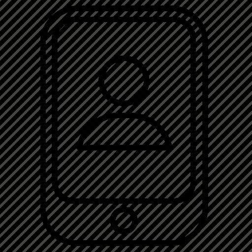 avatar, mobile, random, user icon