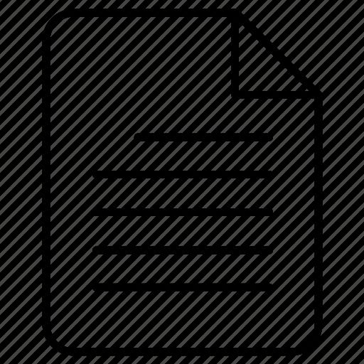 document, random, task icon