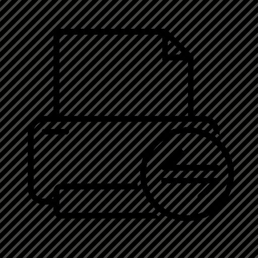 print, printer, random, transfer icon