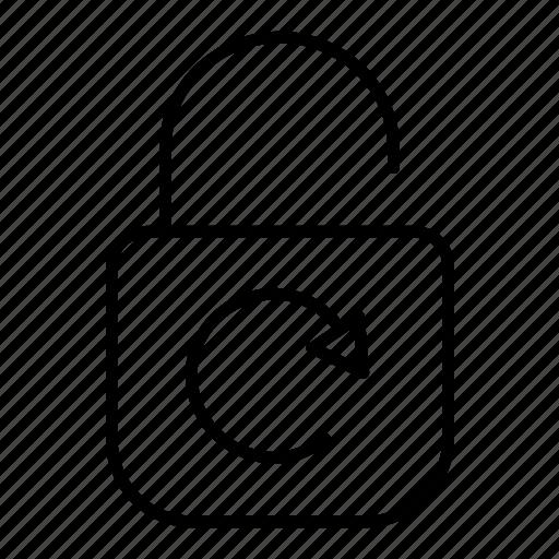 key, password, random, reload icon