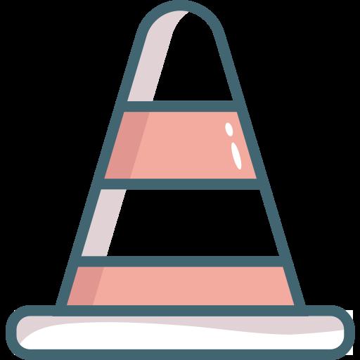cone, construction, hat, traffic cone icon