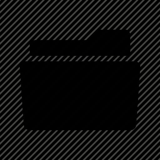 document, file, folder, open, storage icon