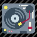 dj, music, player, turntable, vinyl