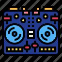 controller, dj, electronics, mixer, music
