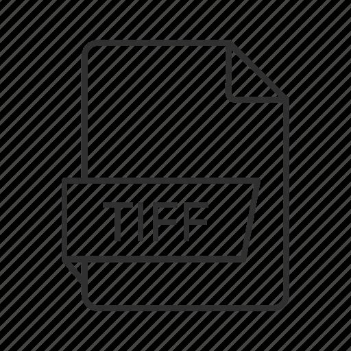 tag image file format, tiff, tiff document, tiff file, tiff file icon, tiff format, tiff icon icon