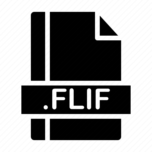 File, file extension, file format, file type, flif icon - Download on Iconfinder