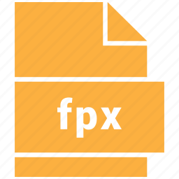extension, file, format, fpx, hovytech, raster image file format icon
