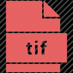 file, raster image file format, tif icon
