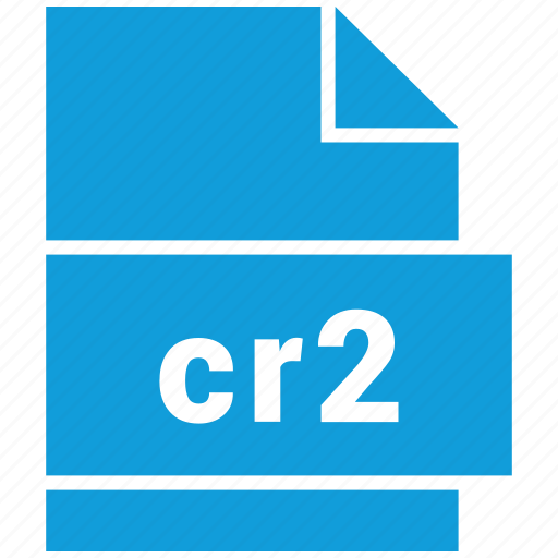 cr2, document, file, format, raster image file format, type icon