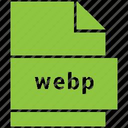 file, media, raster image file format, video, webp icon