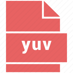 raster image file format, yuv icon