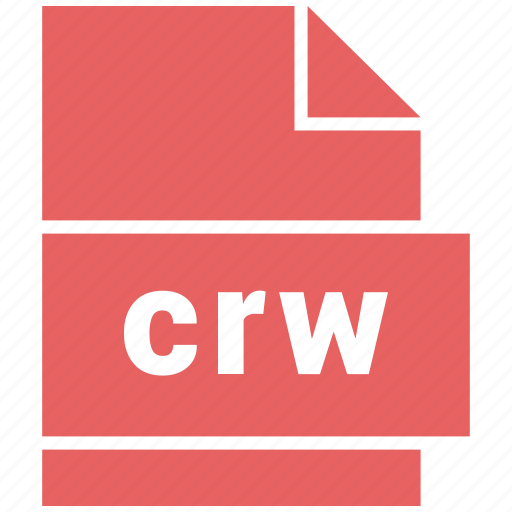 crw, raster image file format icon