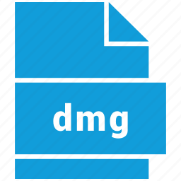 dmg, file, format, raster image file format icon