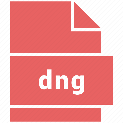 dng, raster image file format icon