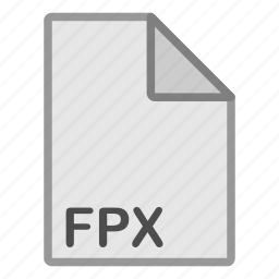 extension, file, format, fpx, hovytech, raster, type icon