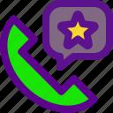 classification, fav, phone, rank icon