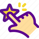 classification, fav, push, rank icon