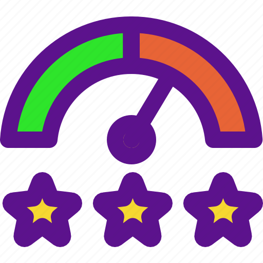 classification, clock, rank, rate icon