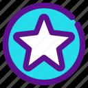 classification, fav, inactive, rank, star icon
