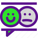 classification, feedback2, rank, smile, user icon