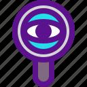 classification, rank, vision icon
