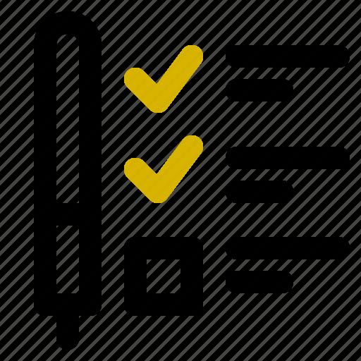 classification, feedback, rank icon