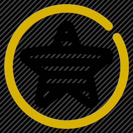 classification, fav, rank, star icon