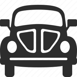 auto, automobile, beetle, car, transport, travel, vehicle icon