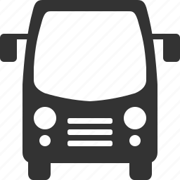 automobile, bus, shipping, traffic, transport, travel, vehicle icon