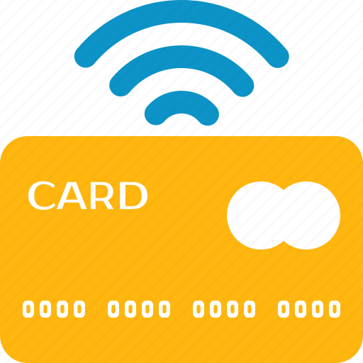 bank, buy, card, pay, paypass, wifi, wireless icon