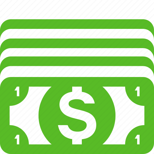 cash, currency, dollar, dollar bill, dollars, finance, money icon