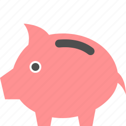 bank, cash, money, piggy, savings icon