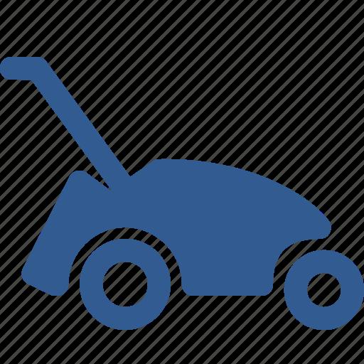 garden, gardering, lawn mower, lawnmower, mower, trimmer icon