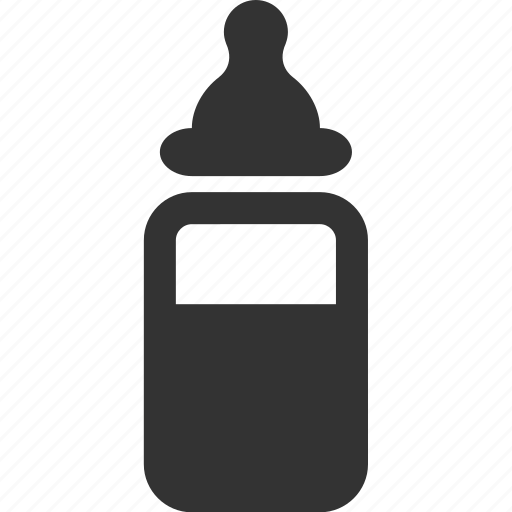 baby, bottle, child, nipple icon