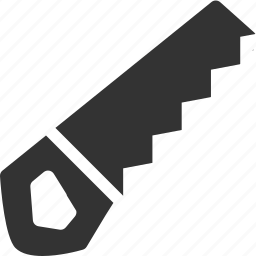 hacksaw, handsaw icon