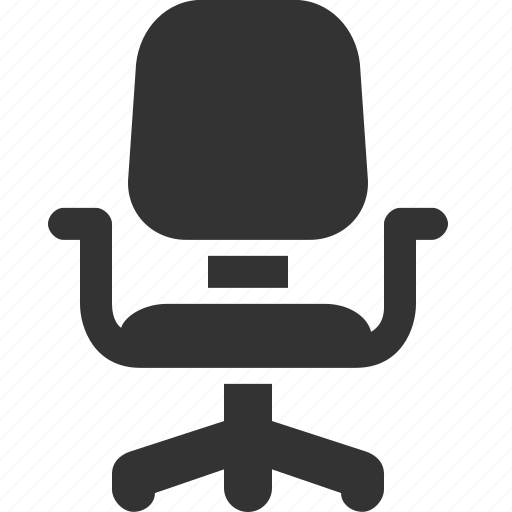 armchair, chair, interior, office, seat icon
