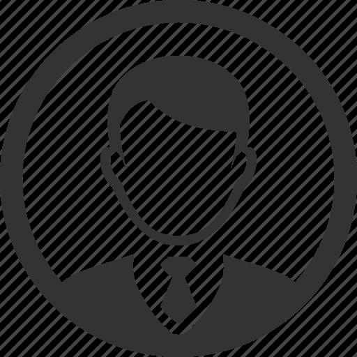 account, circle, profile, user icon