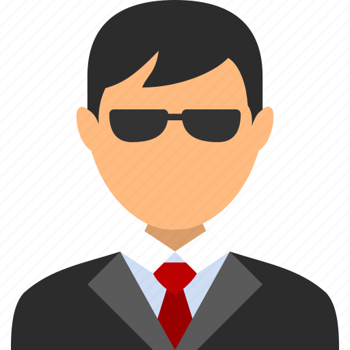 account, agent, boy, businessman, man, spy, user icon