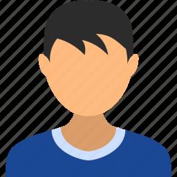 account, avatar, boy, child, kid, man, user icon