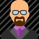 man, professor, teacher, heisenberg