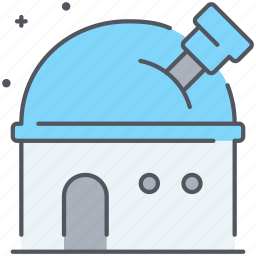 astronomy, cosmos, observatory, planetarium, research, space, universe icon