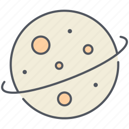 astronomy, jupiter, neptune, planet, saturn, space, uranus icon
