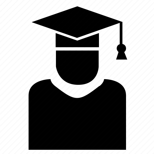 education, master, phd, professor icon