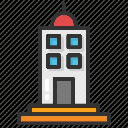 apartments, city building, city skyline, office block, skyscraper icon