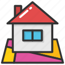 apartment, home, house, rural home, villa icon