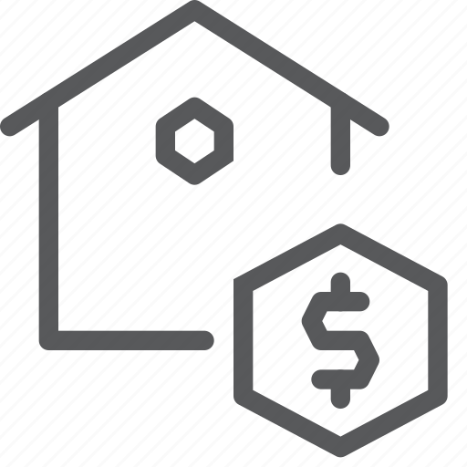 buy, currency, dollar, estate, house, money, real, sell icon