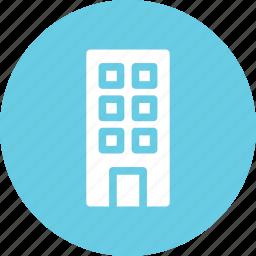 apartments, building, home, skyscraper icon