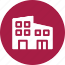 apartments, buildings, house, neighbors icon