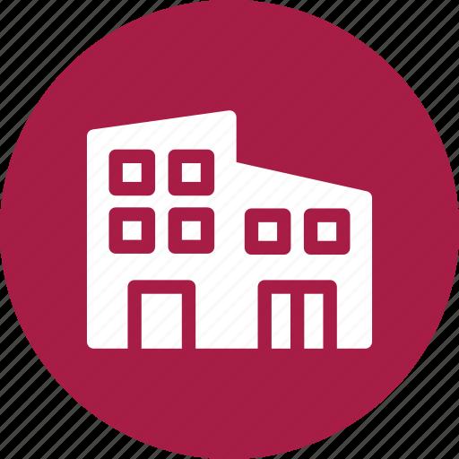 apartments, buildings, house, neighbors icon